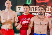 РЕЗУЛЬТАТЫ ТУРНИРА ПО ММА FIGHT NIGHTS GLOBAL 70
